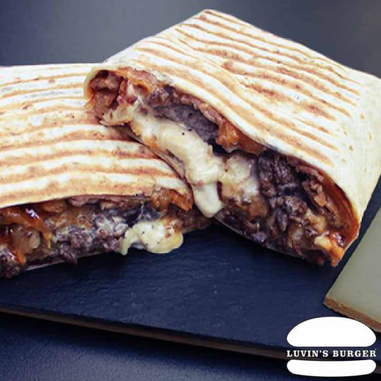 Plat : Luvin's Burger  - Tacos – Le Montagnard -   © Luvin's Burger