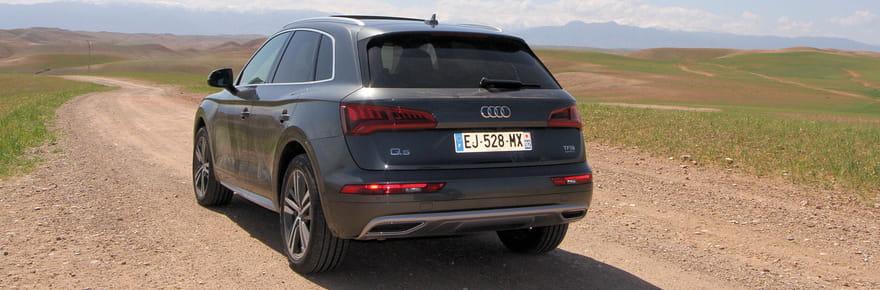 L'essai de l'Audi Q5en images