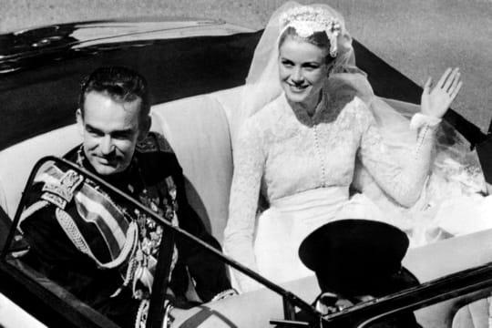 1956: Rainier III et Grace Kelly