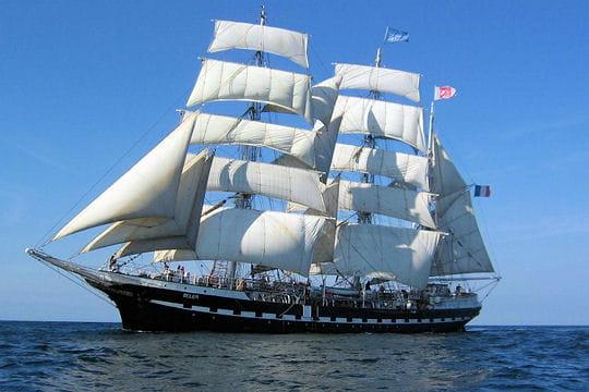 Le Belem, le voilier qui a traversé lesmersetl'Histoire