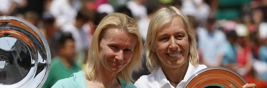 "Mort de Jana Novotna: Navratilova et Evert perdent ""une amie"""