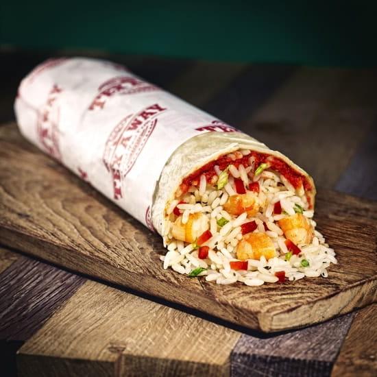 Tex A way  - Burrito aux crevettes -
