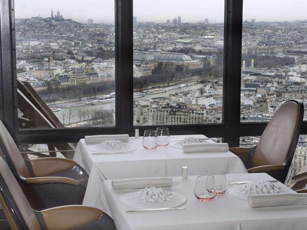 Restaurant de la Tour Eiffel: ouverture du Jules Verne le 24mai 2019