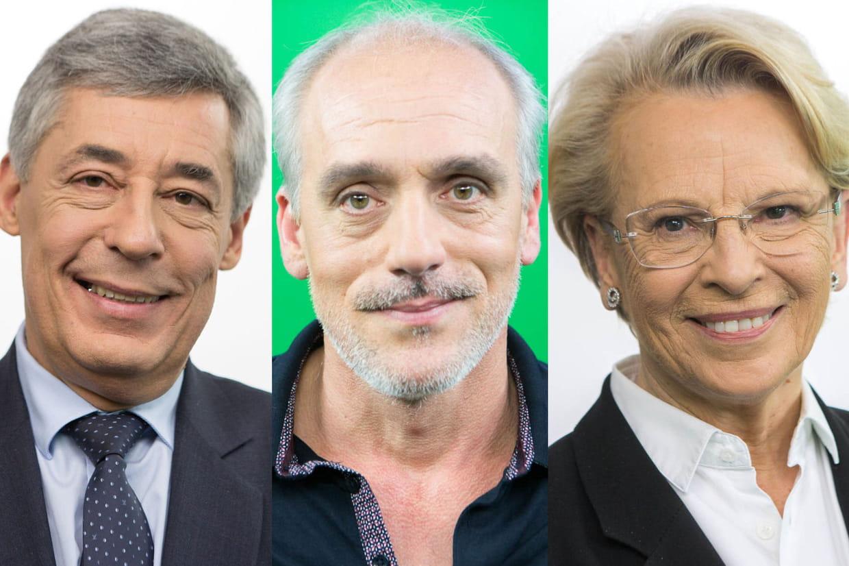 Le Pen et Macron au coude-à-coude, Fillon distancé selon un sondage