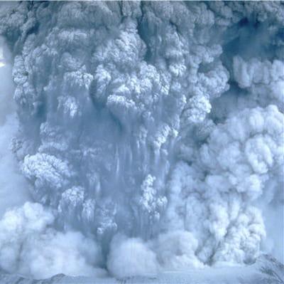 les volcans explosifs sont les plus dangereux pour l'homme.