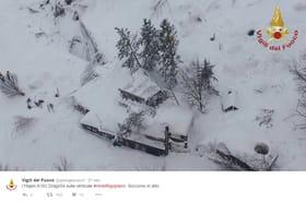 Avalanche en Italie: les secours recherchent des survivants dans l'hôtel des Abruzzes