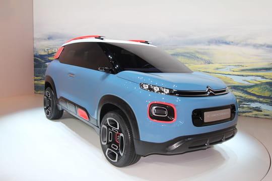 Citroën C-Aircross Concept: le concept du futur C3Aircross en photos