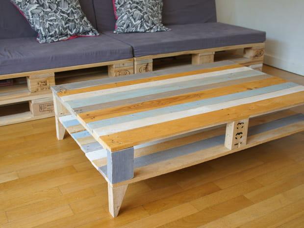 construire sa table basse stunning fabriquer une console sympa avec une vieille table diy with. Black Bedroom Furniture Sets. Home Design Ideas