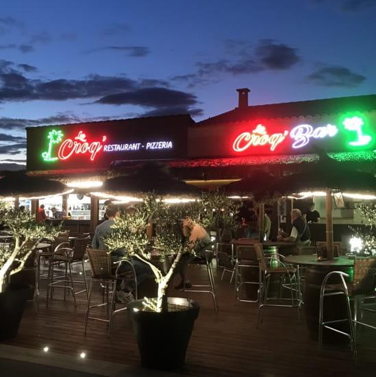 Restaurant : Le Croq'  - Très agréable le soir ! -