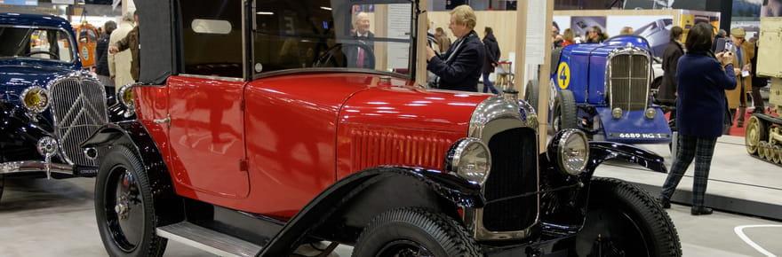 Citroën fête ses 100ans: le stand de Rétromobile en images