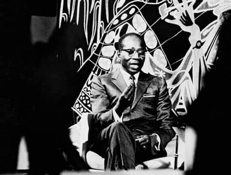 Léopold Sédar Senghor, homme d'Etat et écrivain sénégalais
