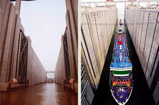 Le passage des bateaux