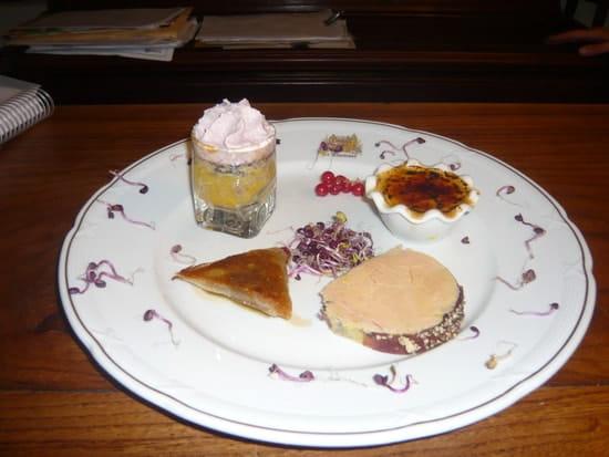 Table Gourmande Le Mogador  - le foie gras  -   © boursier d