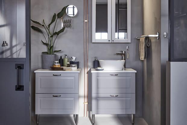 Une salle de bains chic