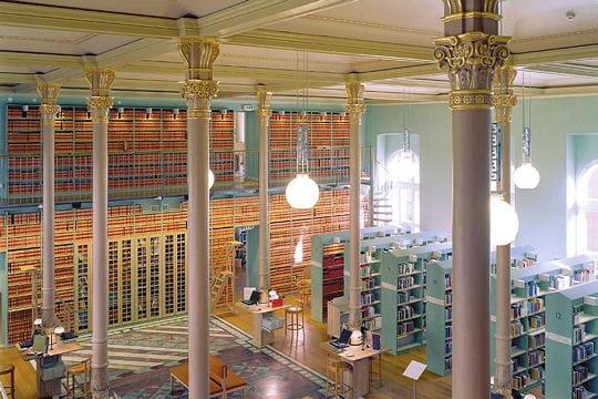 La bibliothèque du parlement suédois