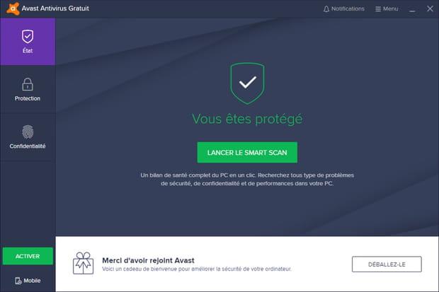 Avast Antivirus Gratuit, un antivirus qui a fait ses preuves