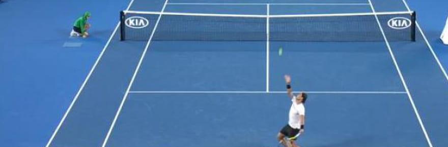 Nadal - Federer: les plus beaux points de la finale en vidéo