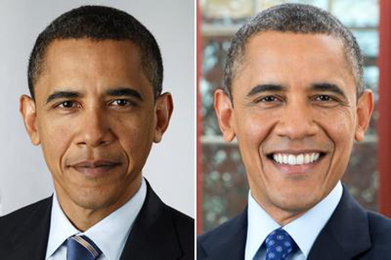 Barack obama un gros coup de vieux en 4 ans de mandat for Before and after presidency