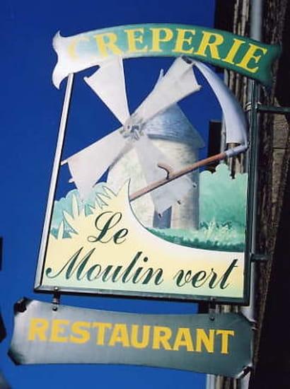 Crêperie Le Moulin Vert  - Le Moulin Vert -   © P.A