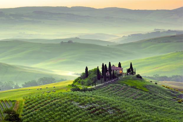 Un long voyage à travers l'Italie