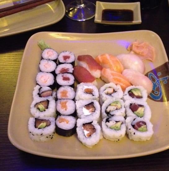 Plat : Sushi Hanaki