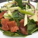 Restaurant : La Maison Martin  - Salade Nordique -   © Martin Fleury