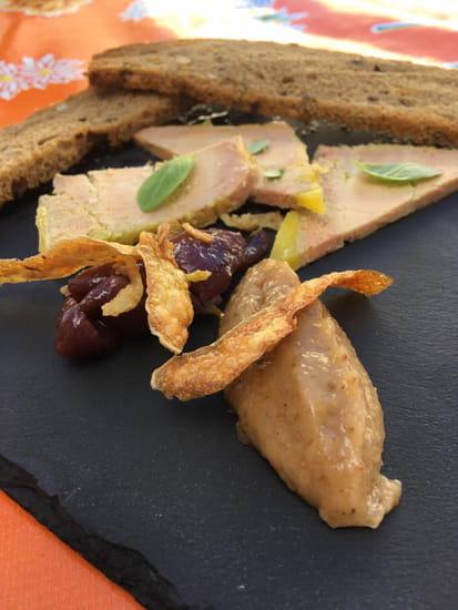 Entrée : La Solette  - Foie gras -   © la solette