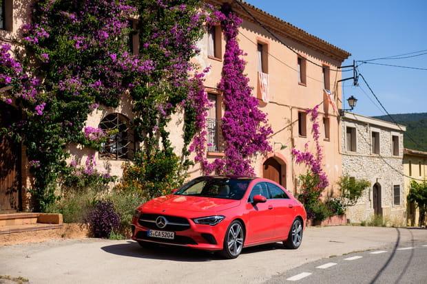 Essai de la nouvelle Mercedes CLA