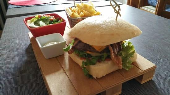 Plat : Le Somail  - Burger Maison Le Gersois  -