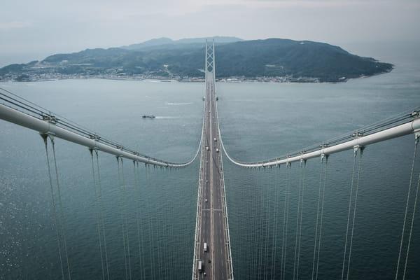 Plus long pont suspendu du monde