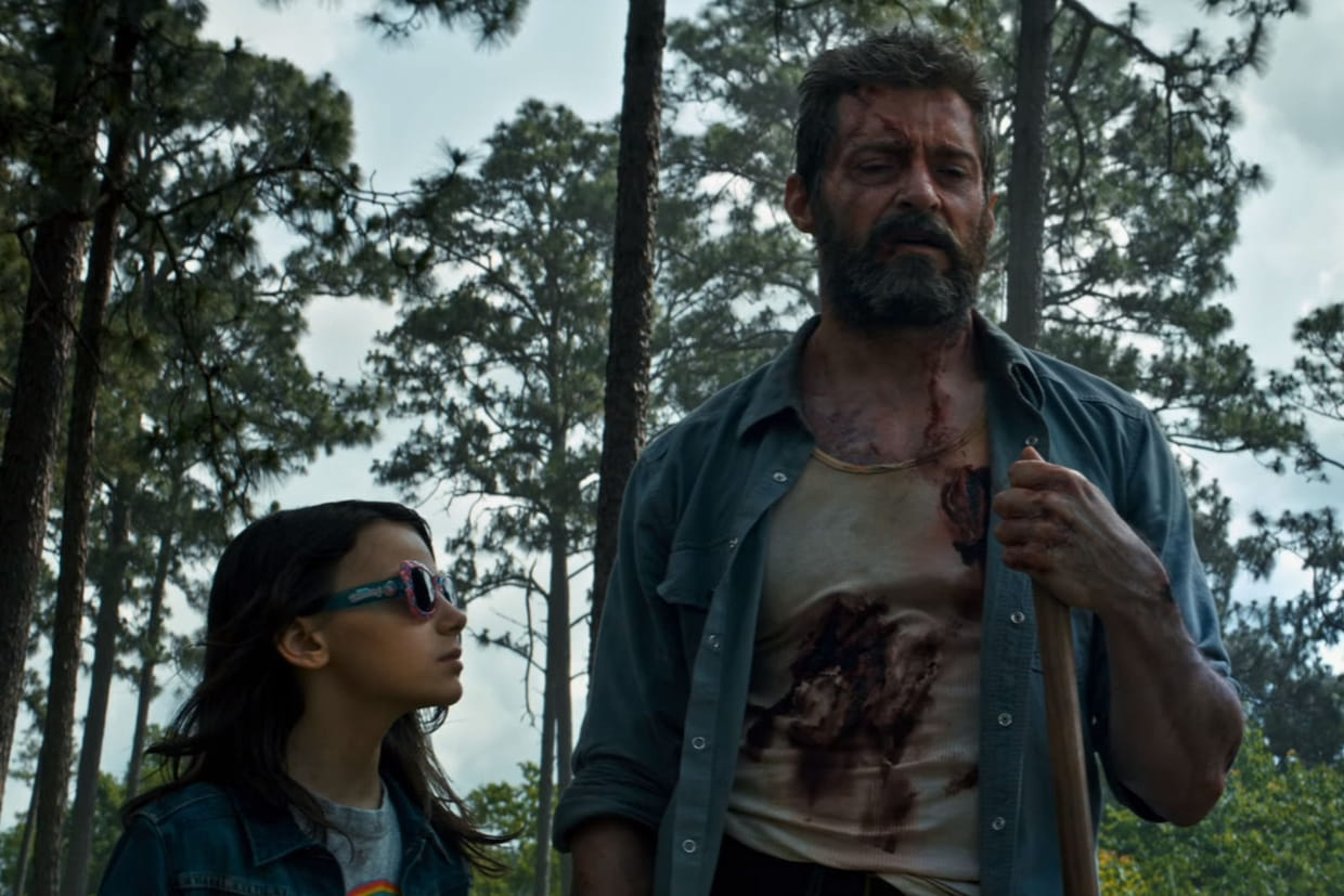 "Photo du film ""Logan"""