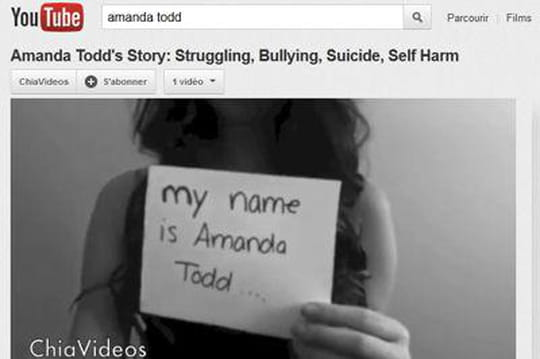 Amanda Todd : le suicide qui enflamme la toile