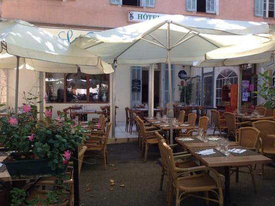 Restaurant : La Fontaine  - Terrasse -