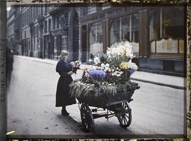 Photo : Paris au début du XXe siècle en couleurs