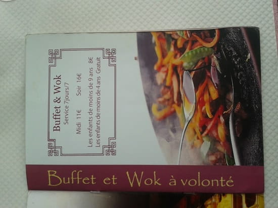 Le Royal Wok  - Carte -   © JPS