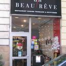 , Restaurant : Restaurant   Beau  Rêve  - Devanture -   © 150497