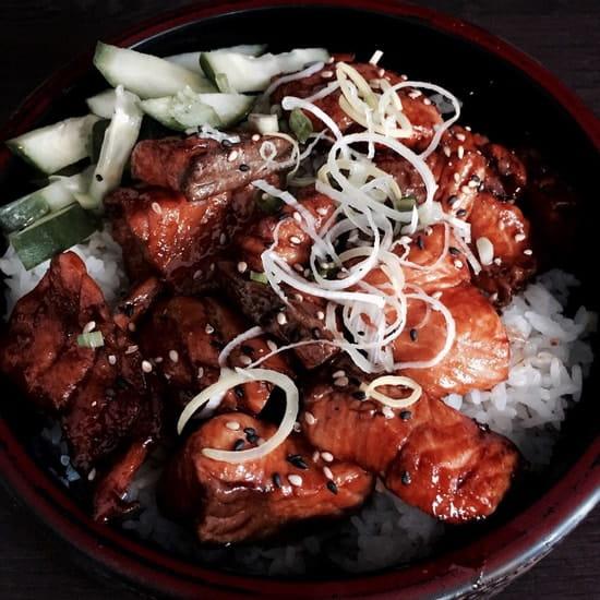 OXO Bistrot - O San Sushi City  - Yaki saumon -