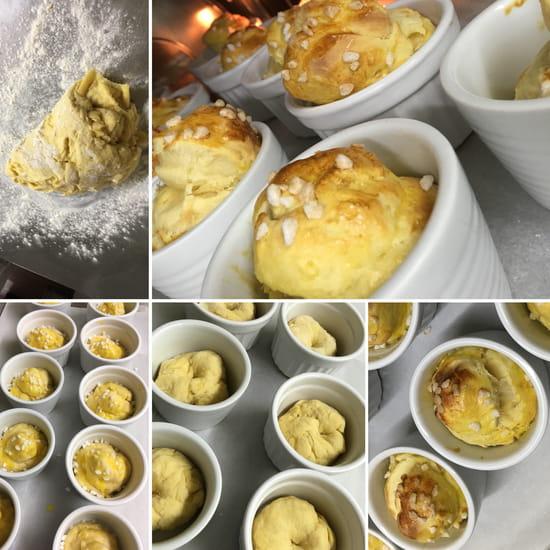 Dessert : Le Petit Montmartre  - Brioches -   © oui