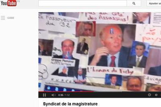 """Mur des cons"" : qui figure parmi les cibles du syndicat de la magistrature ?"