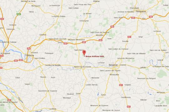 Explosion dans l'usine de feux d'artifices Brézac [Dordogne]: la cause inconnue, une seconde victime