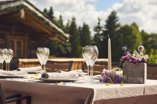 Restaurant : Le Manoir des Montagnes  - La Terrasse -   © Manoir des Montagnes