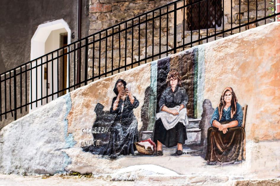 Les peintures murales d'Orgosolo