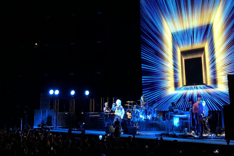 Concerttest: revivez le show d'Indochine à Paris en images