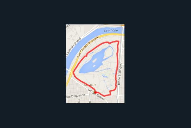 Lyon : le parc de la Tête d'Or (4km)
