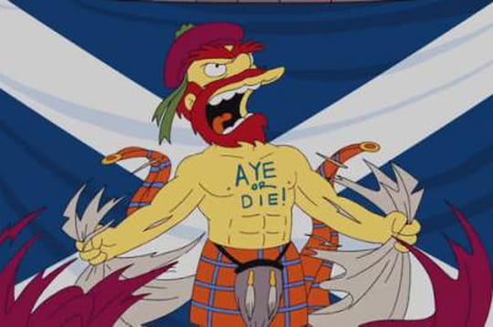 Écosse: les Simpson votent pour son indépendance [VIDEO]