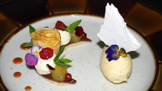 Dessert : Le Chai de Fages  - Un dessert -   © Chai de Fages