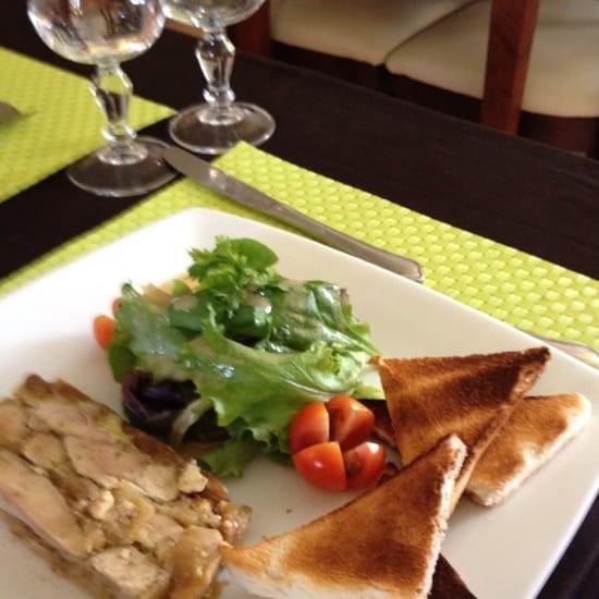 Entrée : Chez Fanny  - Foie gras aux figues -