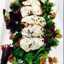 Entrée : Le Gard 1895  - Salade de chèvre du pays, sanguin du pays -