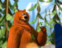 Grizzy et les lemmings  : Ours en cartoon