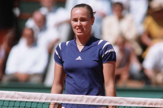 Un admirateur australien harcelait Martina Hingis